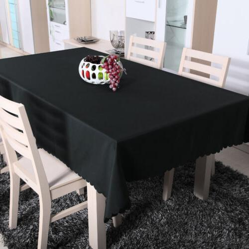 Table Cloth Party Tablecloth Blend