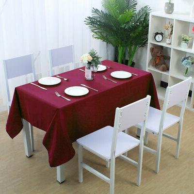 Table Tablecloth Table Covers