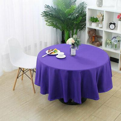 Table Cloth Party Tablecloth Round Table Cloth Covers
