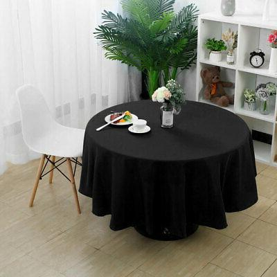 Table Cover Cloth Tablecloth Round Table Covers