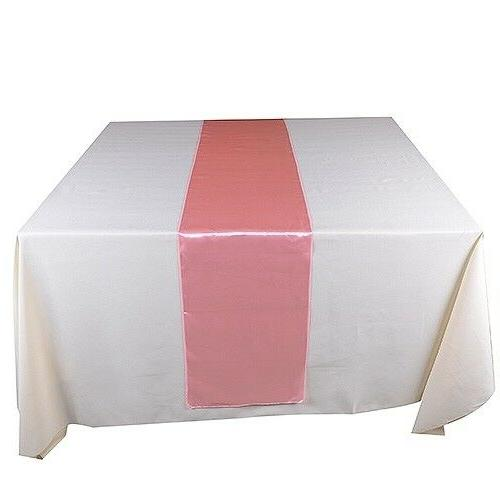 "Set 10 Table Runner Polyester 12X120""  By Broward Linens"