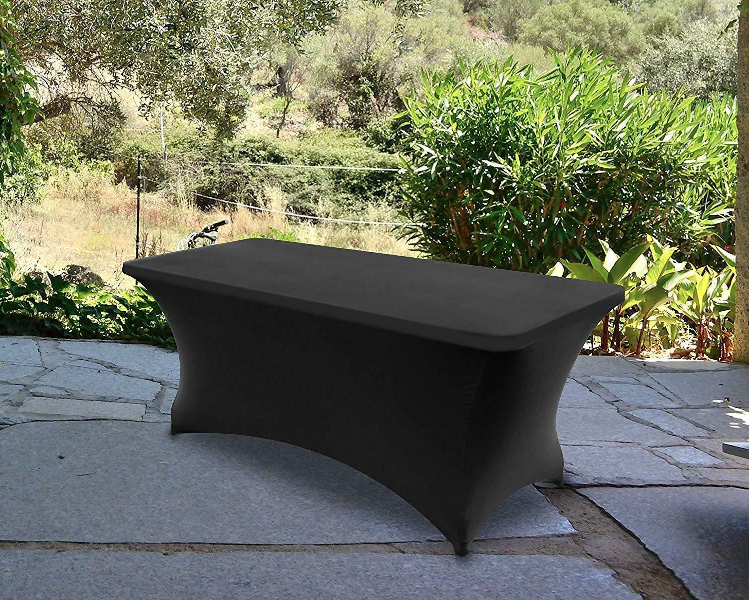 Tablecloth Rectangular Stretch Tight Fit