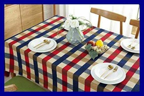 Tablecloth Cotton Table Linens Sofa Cover For Home