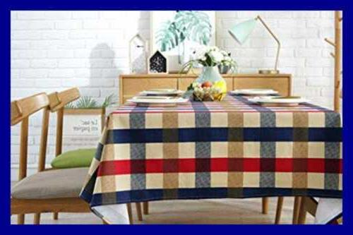 Tablecloth Cotton Thicker Table For Indoor