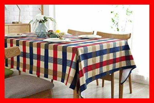Tablecloth Cotton Table Linens For