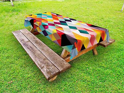 tablecloth for outdoor indoor washable rectangular picnic