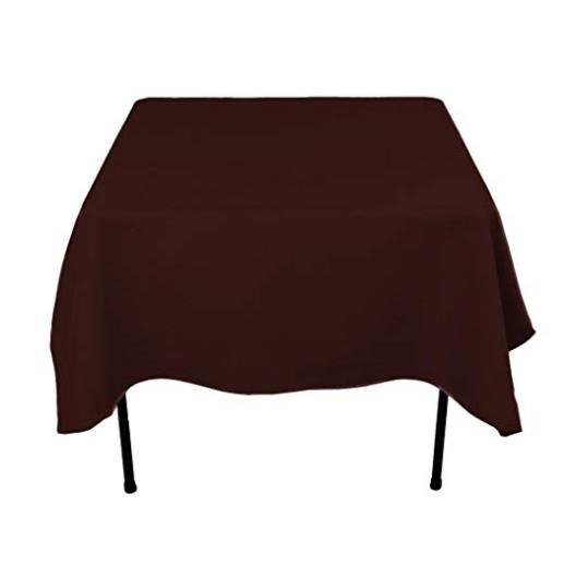 Tablecloth Cloth Square Cover Protector Buffet Polyester Wedding