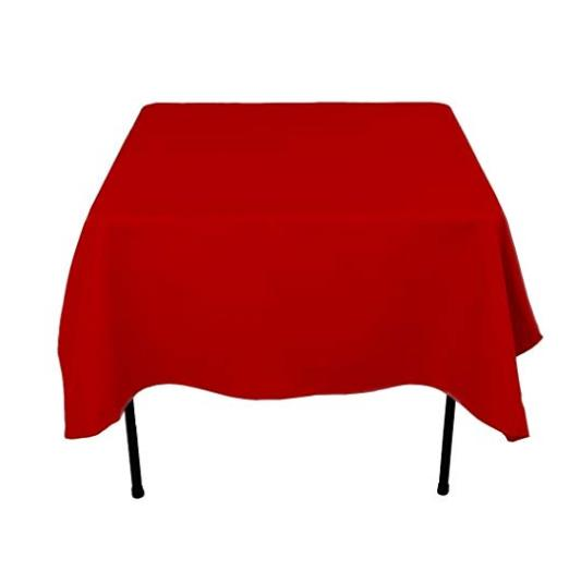 Tablecloth Cloth Square Cover Protector Polyester Wedding