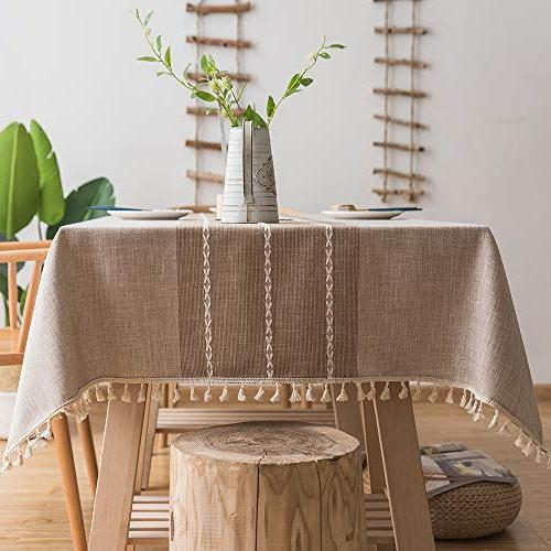 TEWENE Tablecloth, Cloth Free Decoration