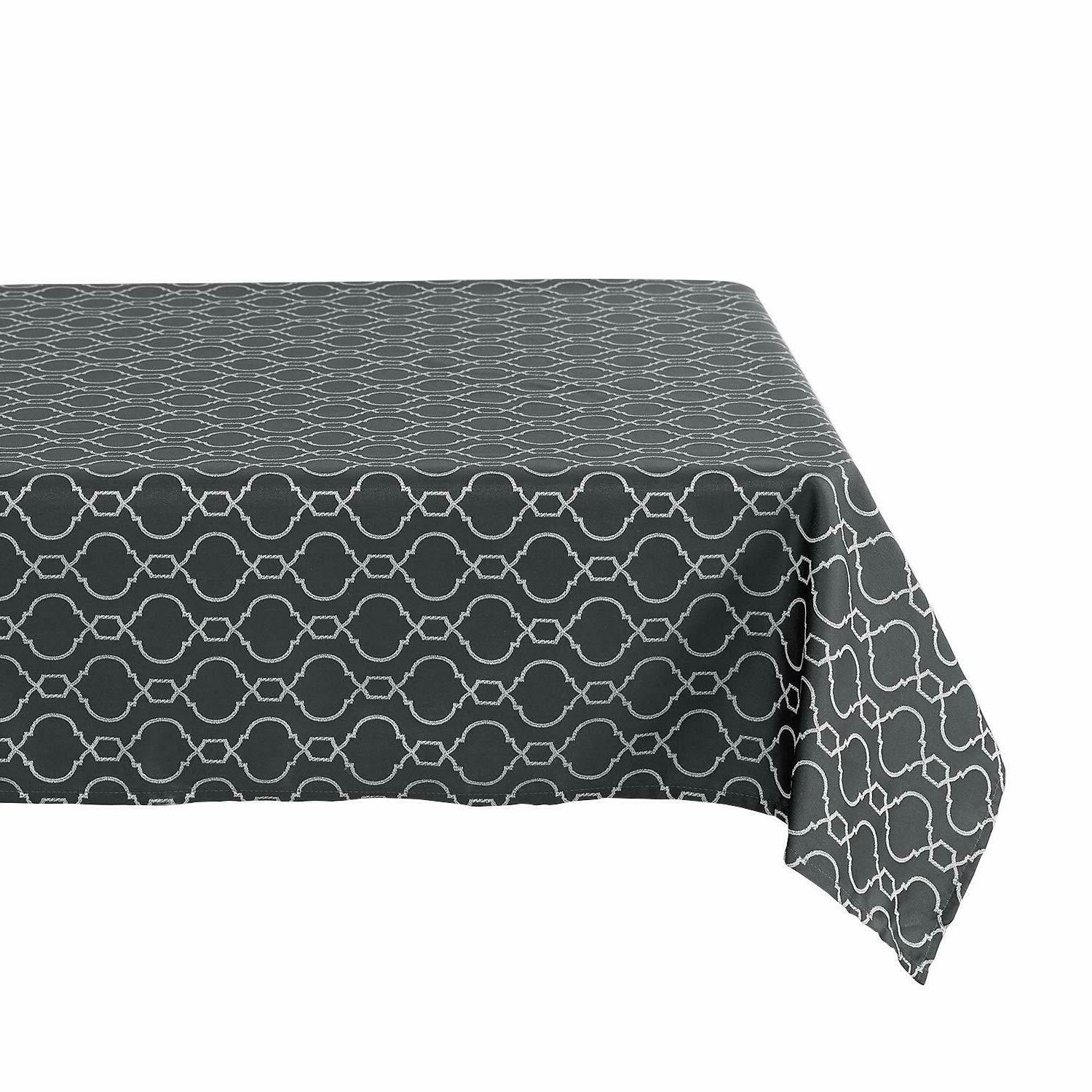 Tablecloths Table Jacquard Spillproof Polyester