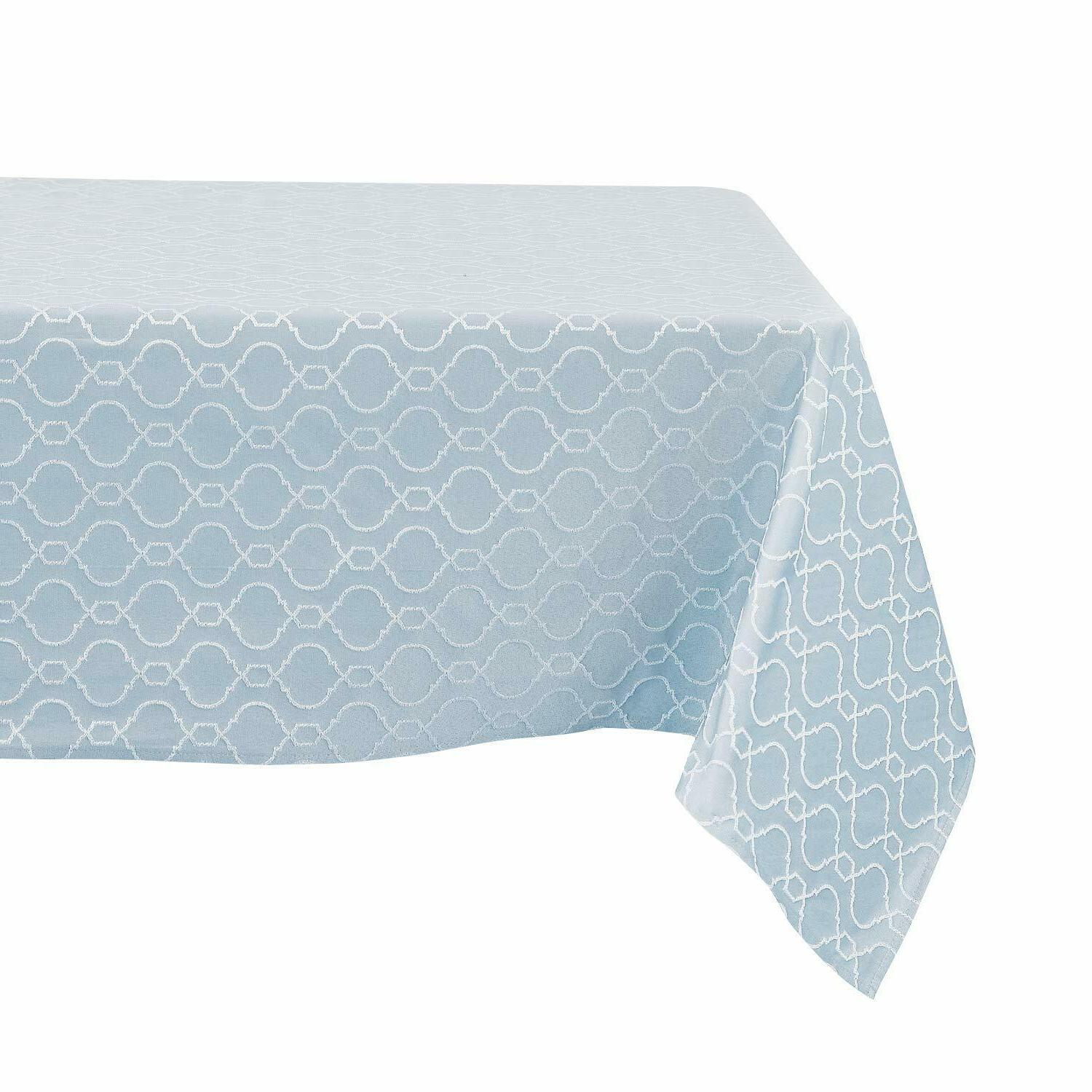 Tablecloths Covers Jacquard Water Polyester