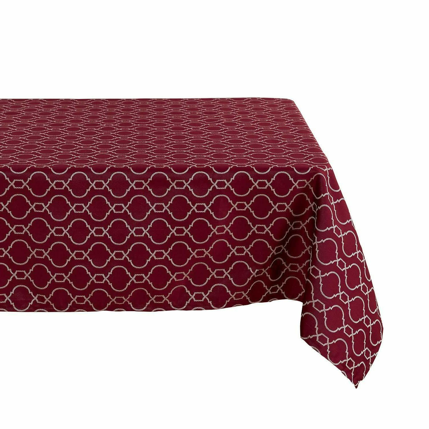 Tablecloths Jacquard Spillproof Water Polyester