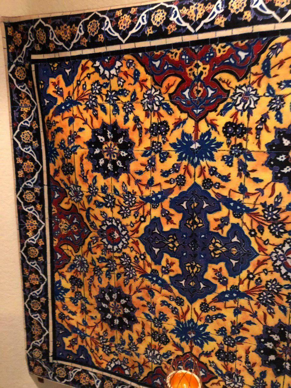 tapestry cloth coffee table hang royalt