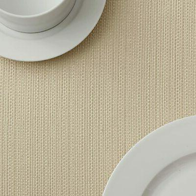 Benson Textured Fabric Tablecloth
