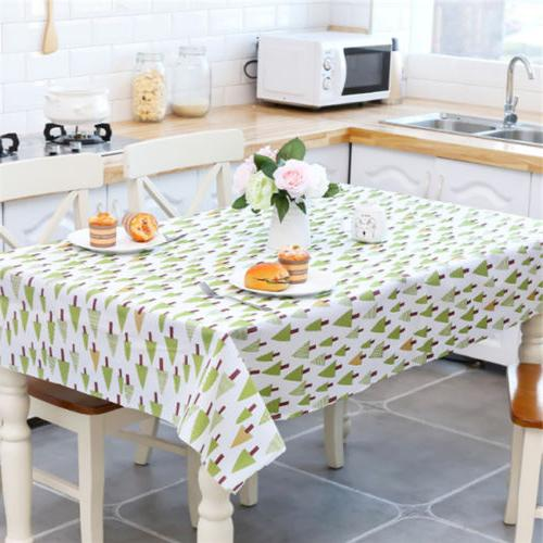 Trendy Table Cover Dining Tablecloth S