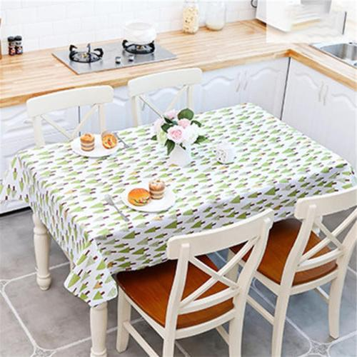 Trendy Oil PVC Table Cover Dining Decor