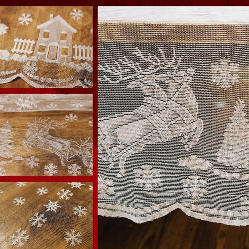 US Christmas Table Lace Tablecloth Party