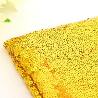 Rectangle Glitter Sparkly Table Cover Wedding