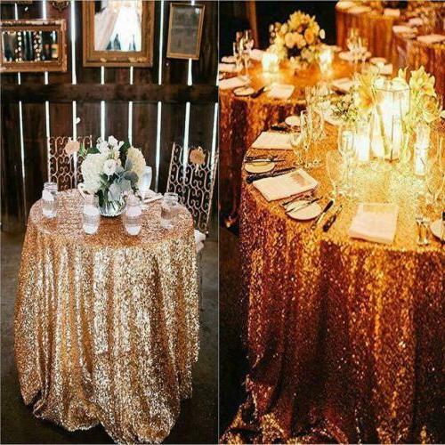 USA Sequin Table Event Tableware