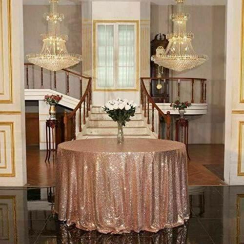 USA Sequin Tablecloths Table Event
