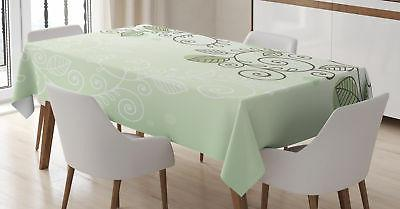 Vine Tablecloth Ambesonne 3 Sizes Rectangular Table Cover Ho