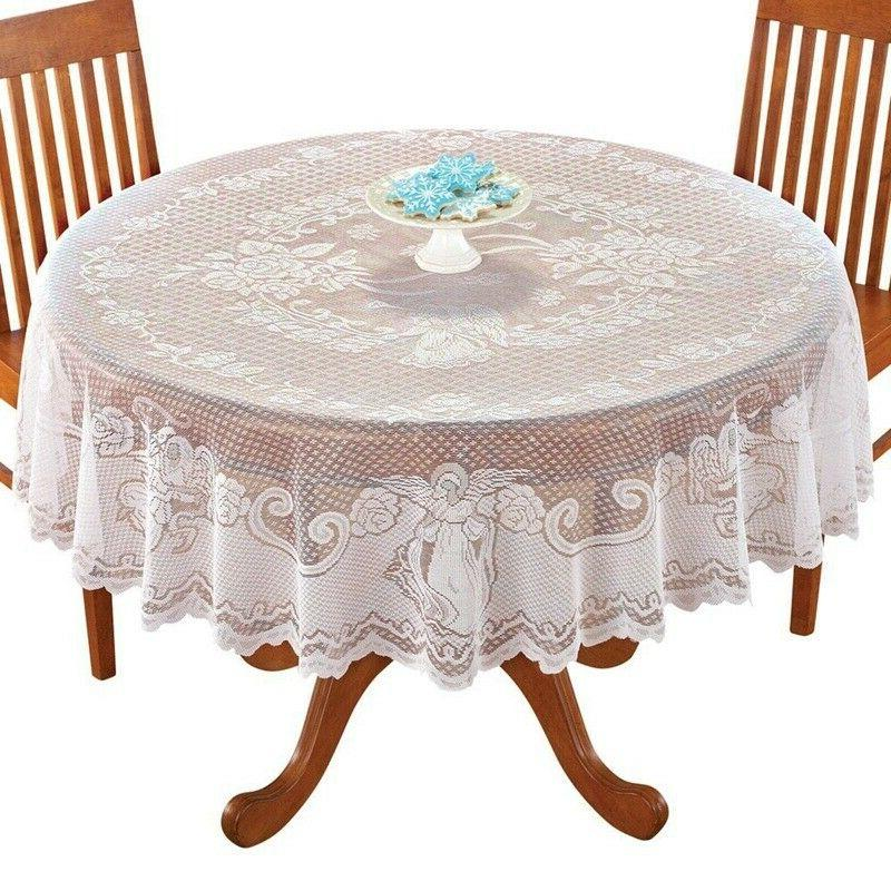 Vintage Lace Tablecloth Rectangle Cloth Cover Home