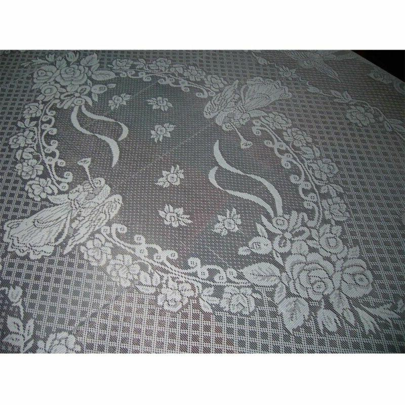 Vintage Lace Tablecloth Rectangle Round Cover Party