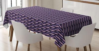 vivid geometry tablecloth 3 sizes rectangular table