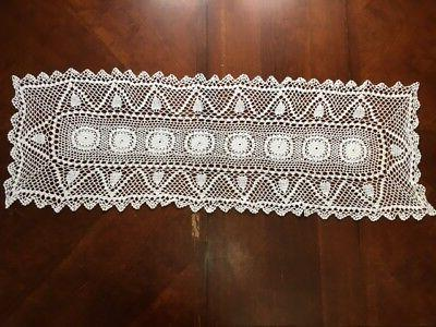 Vntage Handmade Cotton Table Cover