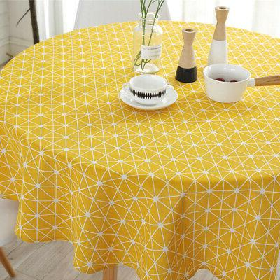Table Cover Round Home