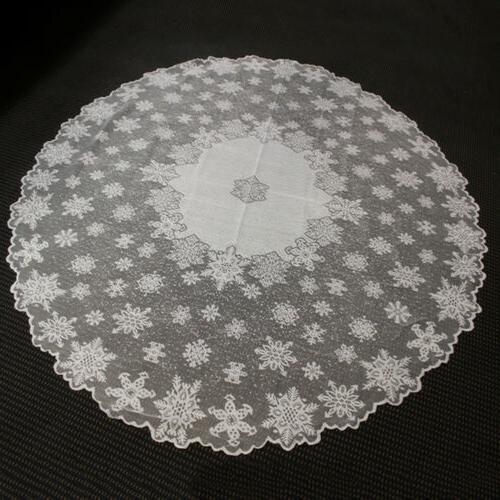 White Lace Tablecloth Cloth