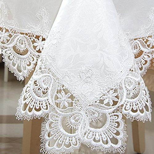 White lace and kitchen