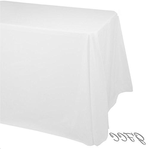 -inch White Tablecloth