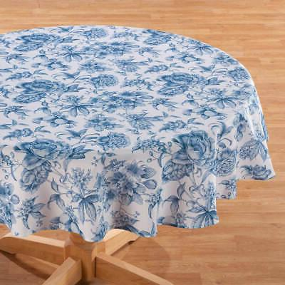 William Roberts Blue Toile Table