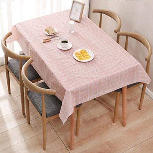 Wipe Table Cover Protector For Kitchen Dining Table