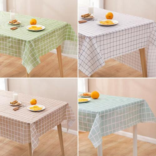 Wipe Clean Tablecloth Table Kitchen