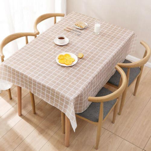 Wipe Table Cover Protector For Kitchen Dining