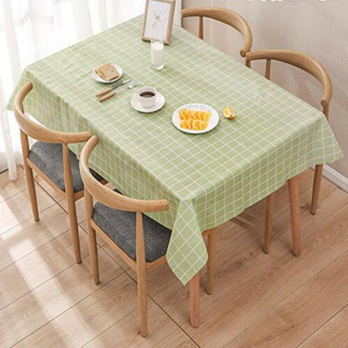 Wipe Tablecloth Table Protector Kitchen Dining Table