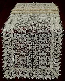Creative Linens Lace Embroidered Flower Placemats Table Clot