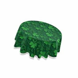 ALAZA Lace Tablecloth, St Patrick Day Shamrock Washable Dust