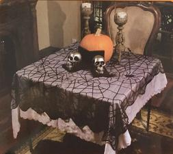 Lace Web Table Cloth Cover 2mx1m Halloween Fancy Party Lacey