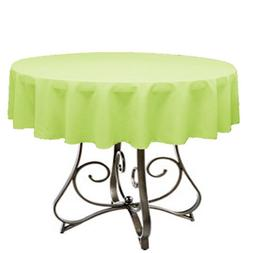 Buy And Sell 95 Corp Lime tablecloth 36 inch round