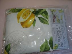 Limoncello Indoor Outdoor Spillproof Tablecloth By Benson Mi