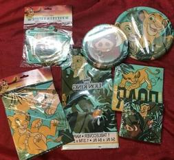 Disney Lion King Birthday Party Kit Decor Paper Plates Napki