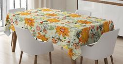 Love Theme Tablecloth Ambesonne 3 Sizes Rectangular Table Co