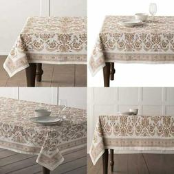 "Maison D' Hermine Allure 100% Cotton Tablecloth 60"" By 108 I"