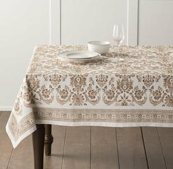 Maison d' Hermine Allure 100% Cotton Tablecloth 60 - inch by