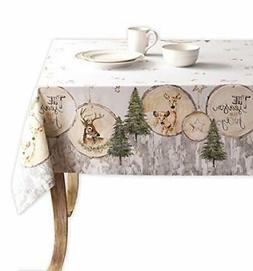 Maison d' Hermine Mountain Life 100% Cotton Tablecloth 54 In