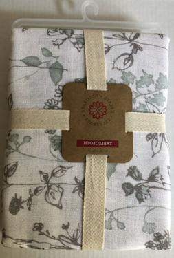 MEADOWFLOWER Cloth Tablecloth 60x84 Rectangle 100%Polyester