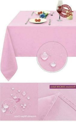 Microfiber Tablecloth Table Covering Decorative Fabric Recta